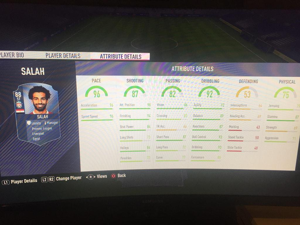 FIFA 18 fans think they're looking at the next POTM