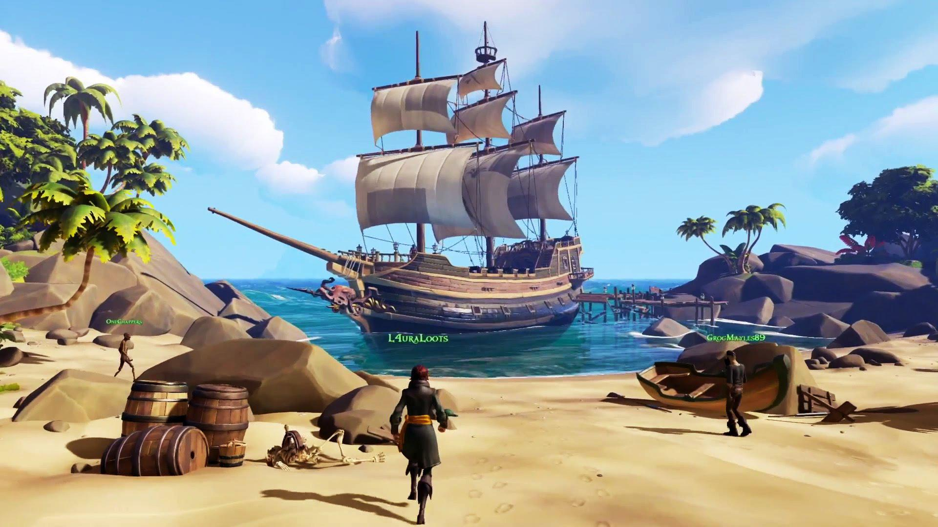 Rare, who were behind GoldenEye and Perfect Dark, will hope Sea of Thieves is a hit with gamers