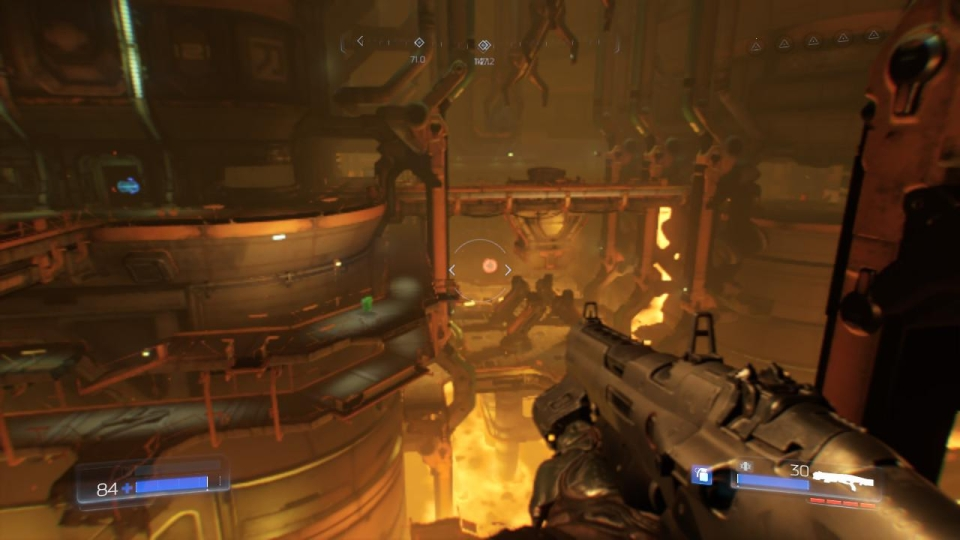 Doom is brilliant on the Switch and runs smoothly at a cost to the resolution