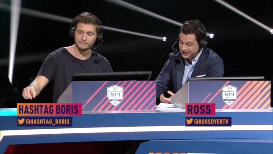 'Hashtag Boris' in action at the FUT Champions Cup