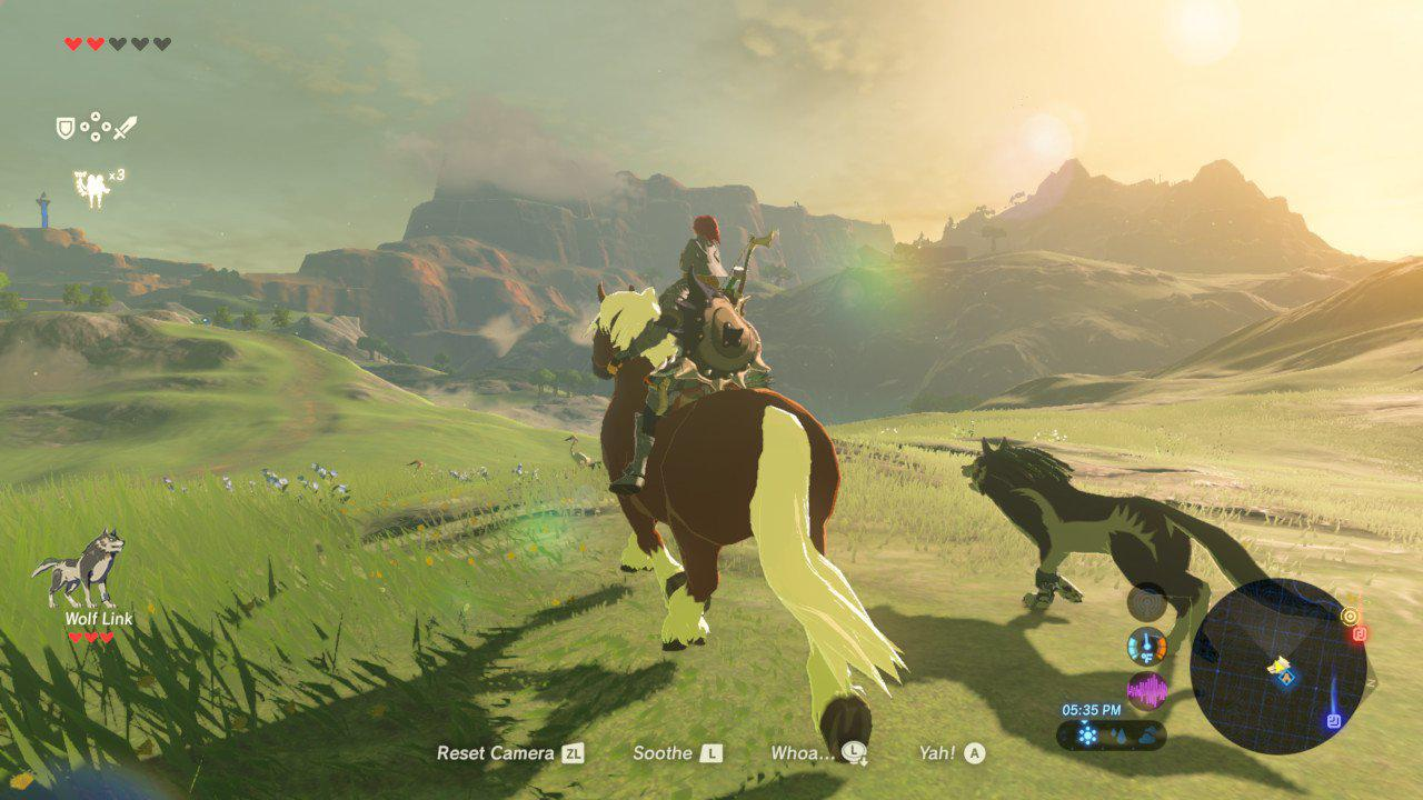 You'll be able to ride horses and other animals in the next game