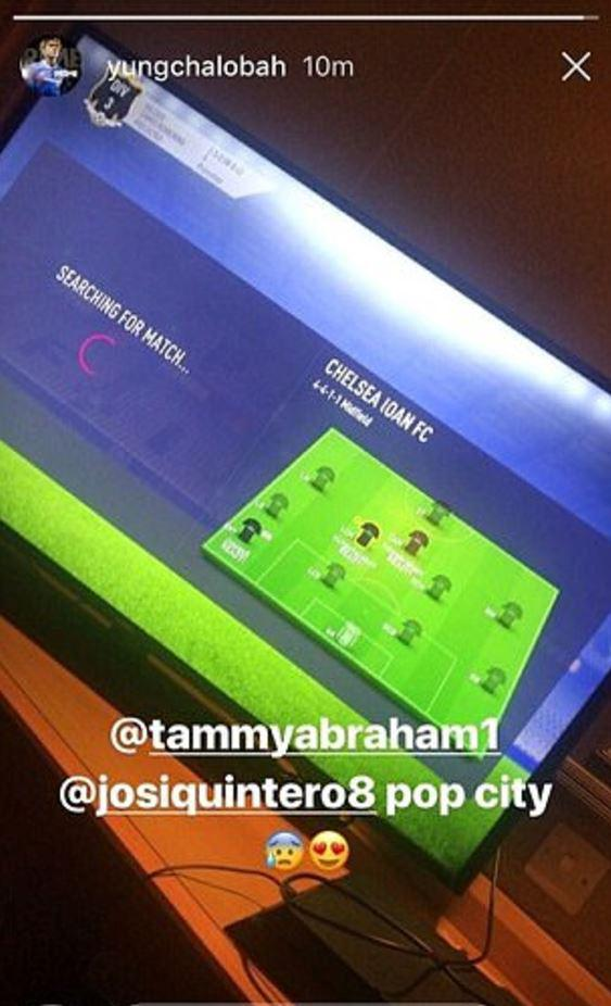 Chalobah's Insta story poked fun at his club
