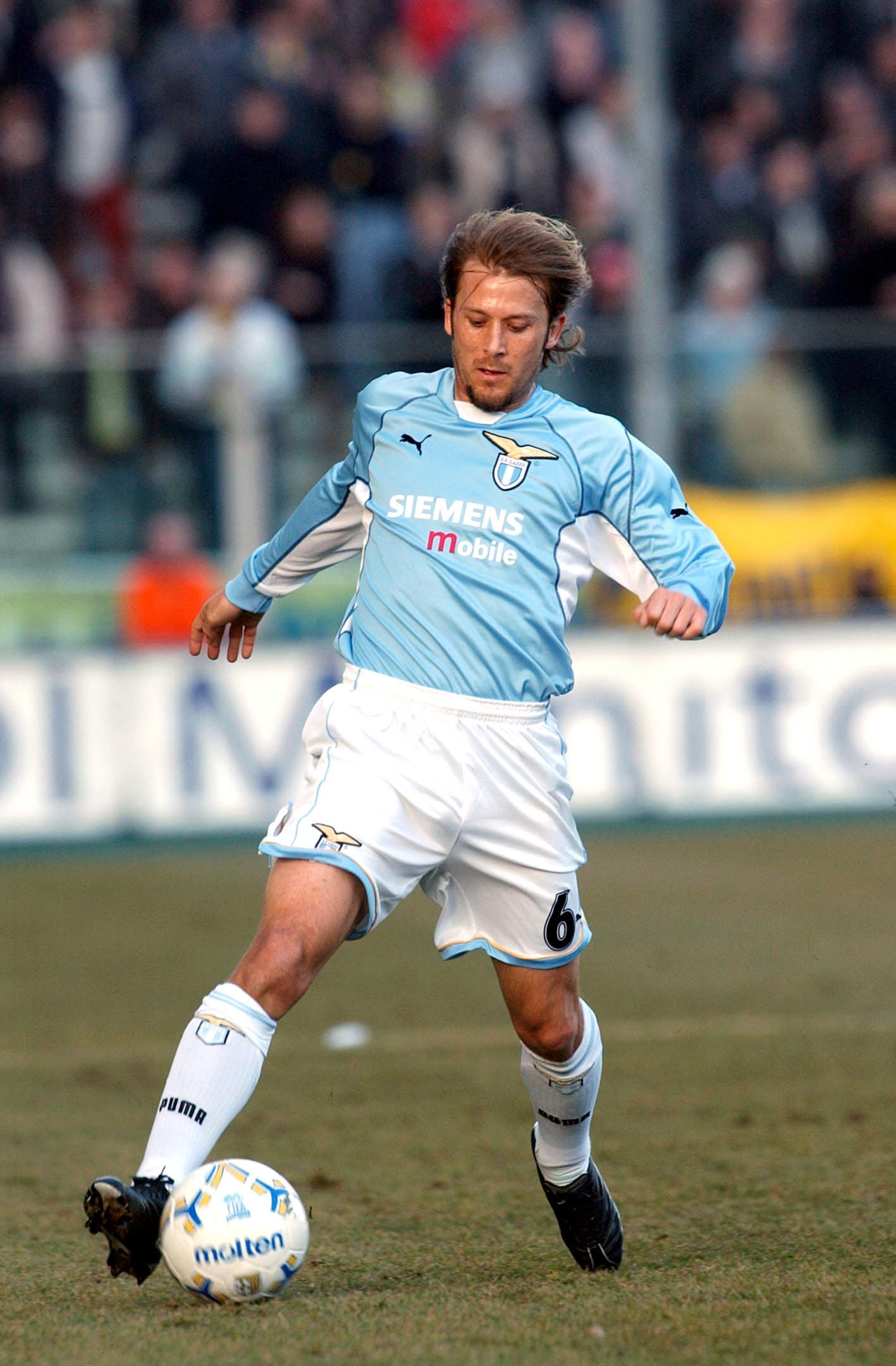 Mendieta became the sixth most expensive player in history when he signed for Lazio