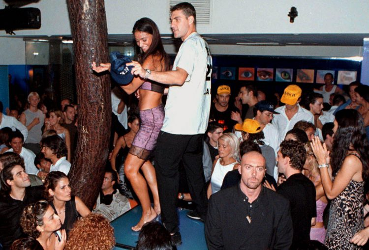 Nothing to see here, just Christian Vieri enjoying his birthday
