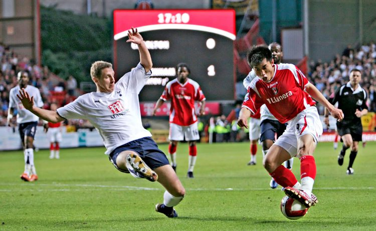 The Chinese David Beckham in action for Charlton