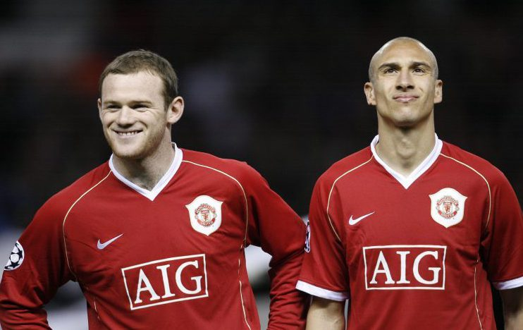 Just look how happy Wazza was when Man United signed Henrik Larsson