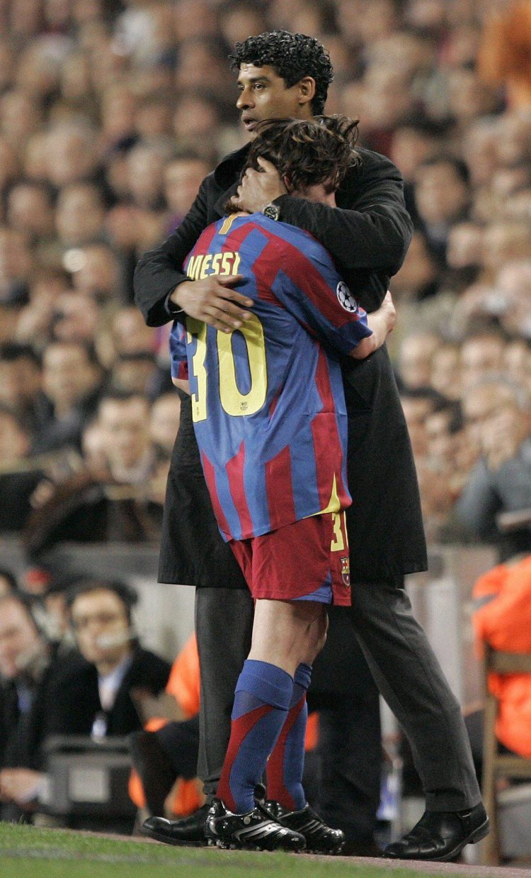 Never let go Messi
