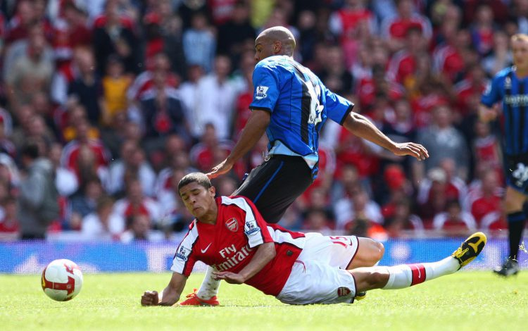 Everyone loves a slide tackle with the head