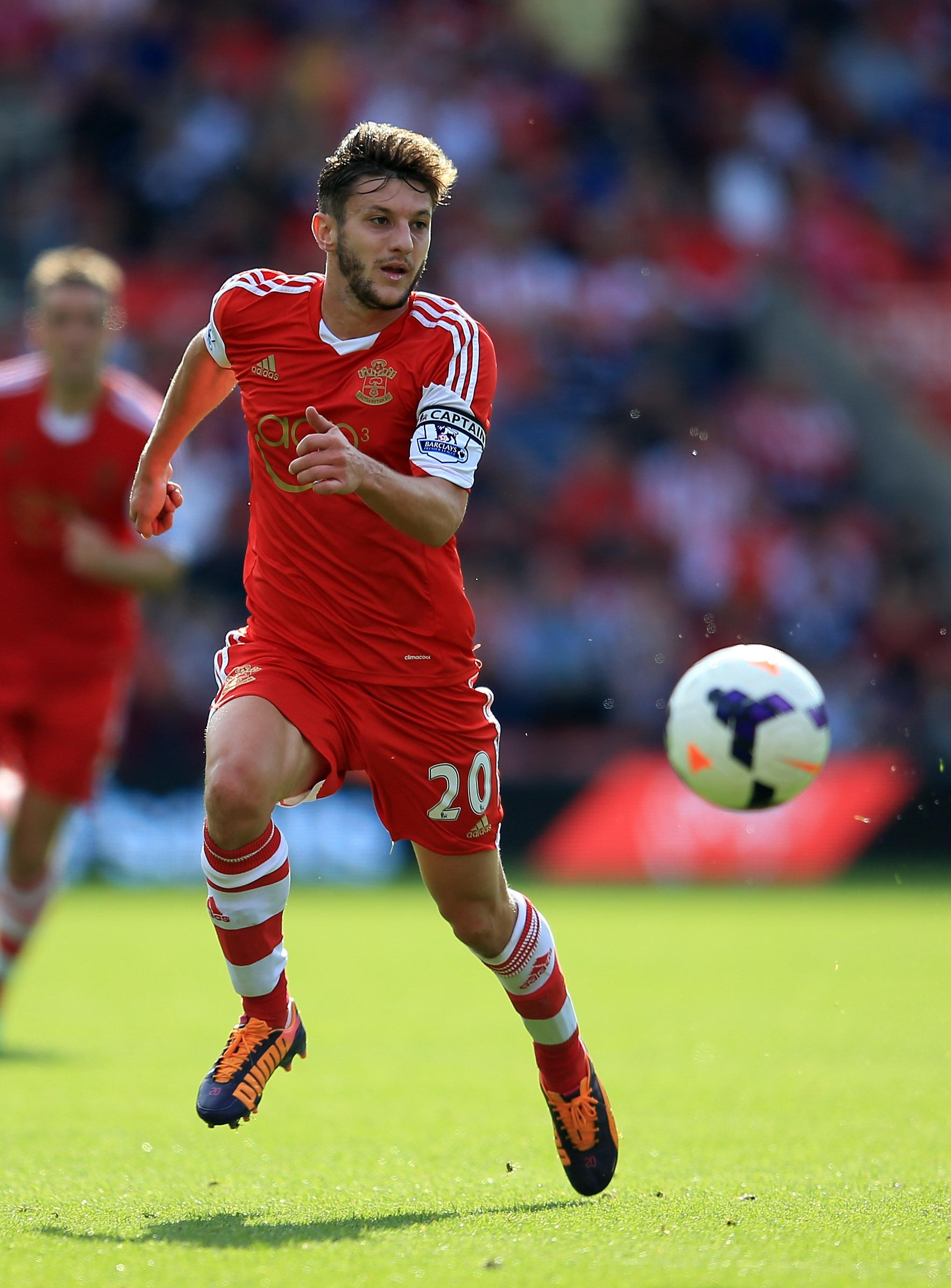 Lallana was a Saints boy when they were in League One