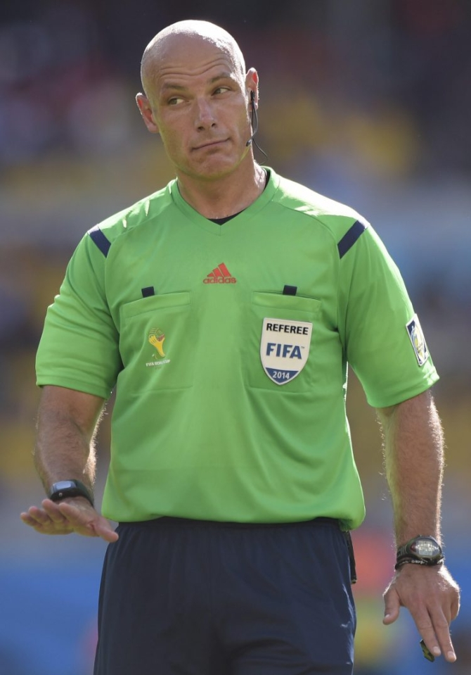 Man United are still looking for a new referee since Howard Webb retired
