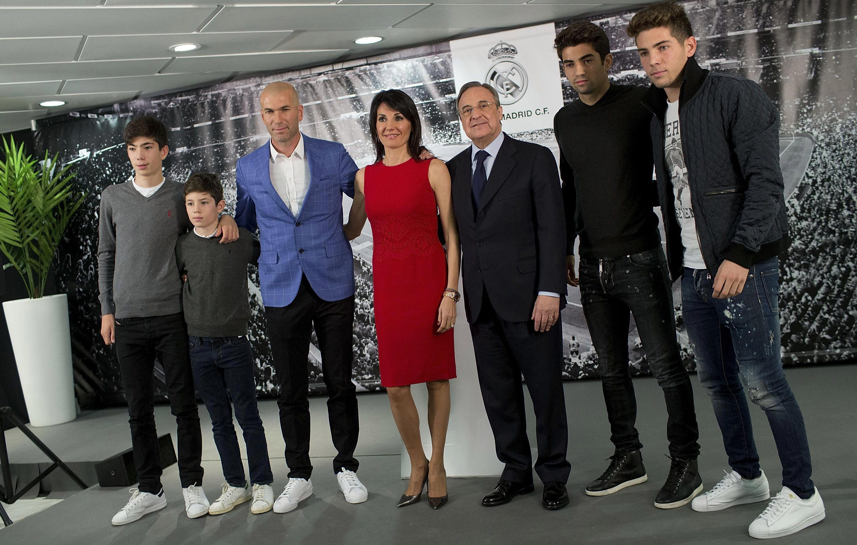 Enzo, Luca, Theo and Elyaz have all followed in their father's footsteps
