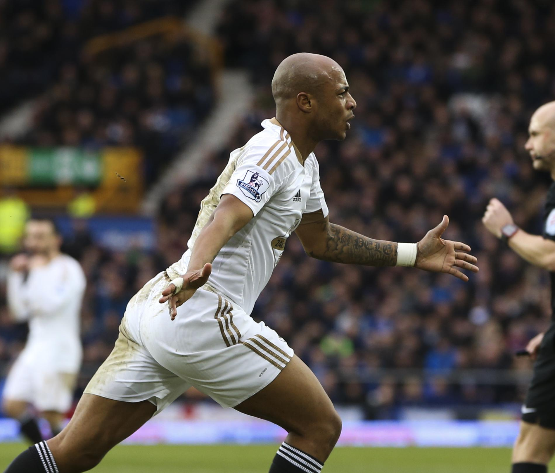 Ayew was a hit in Wales