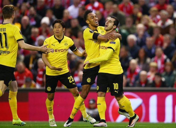 Mkhitaryan assist Aubameyang goal. Bang bang.