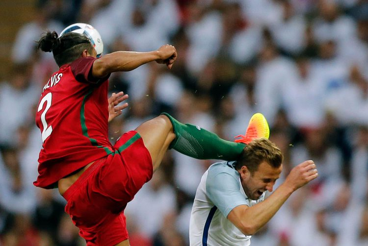 'I was going for the ball ref!'