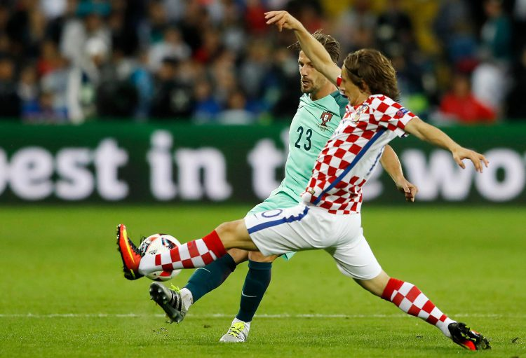 Who knew Luka Modric was that flexible?