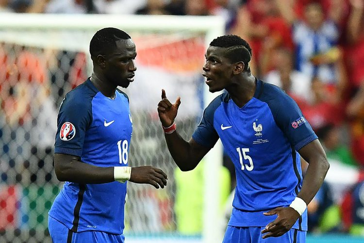 The most talented French midfielder since Zizou pictured with Paul Pogba