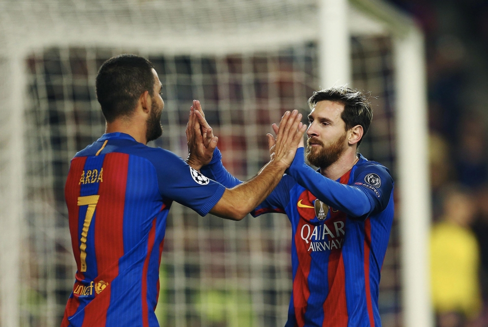 Arda Turan already holds the number