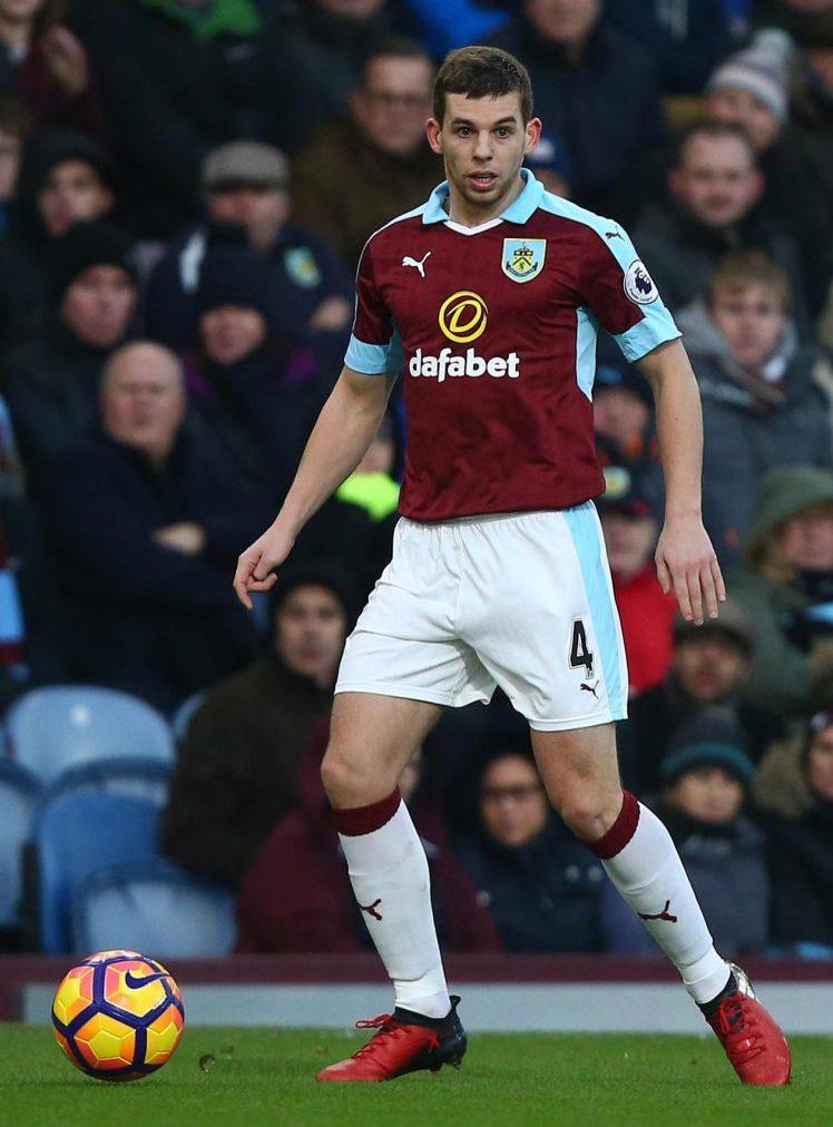 The defender was loaned to Burnley last season