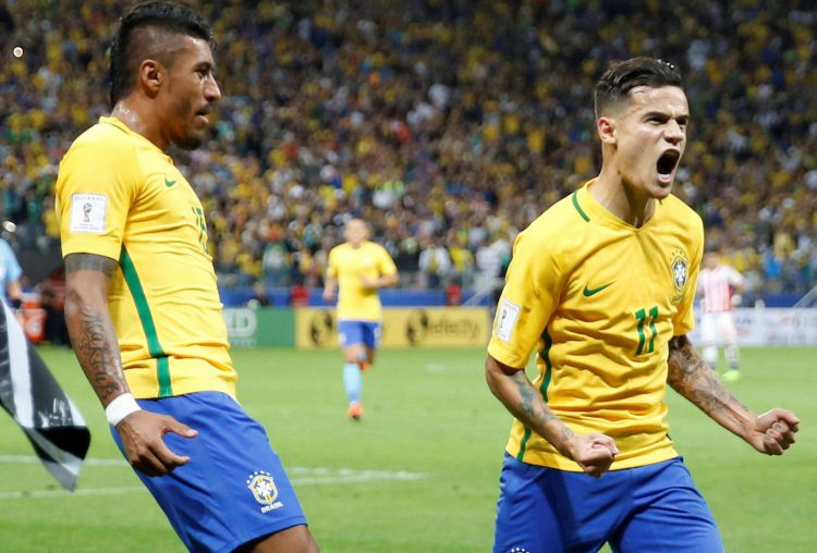 Brazil's best midfilder…. and Philippe Coutinho