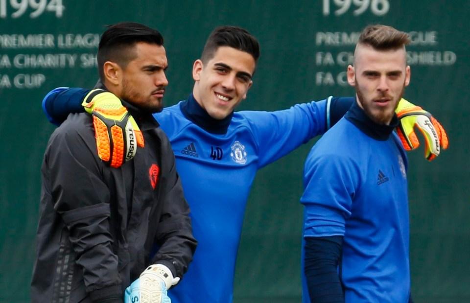 Romero and Joel Pereira can't topple De Gea