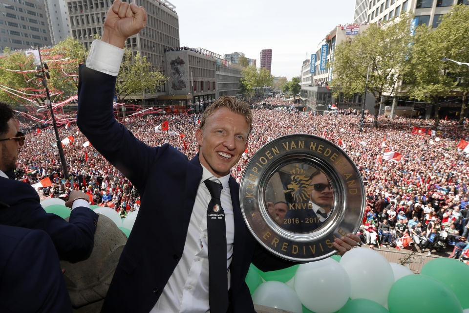 The move back to Feyenoord certainly worked out alright for Kuyt