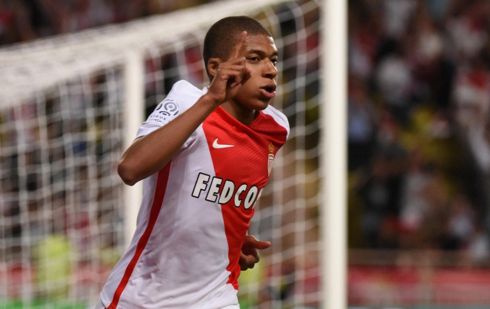 Mbappe quickly rose through the ranks at Monaco before leaving to join PSG