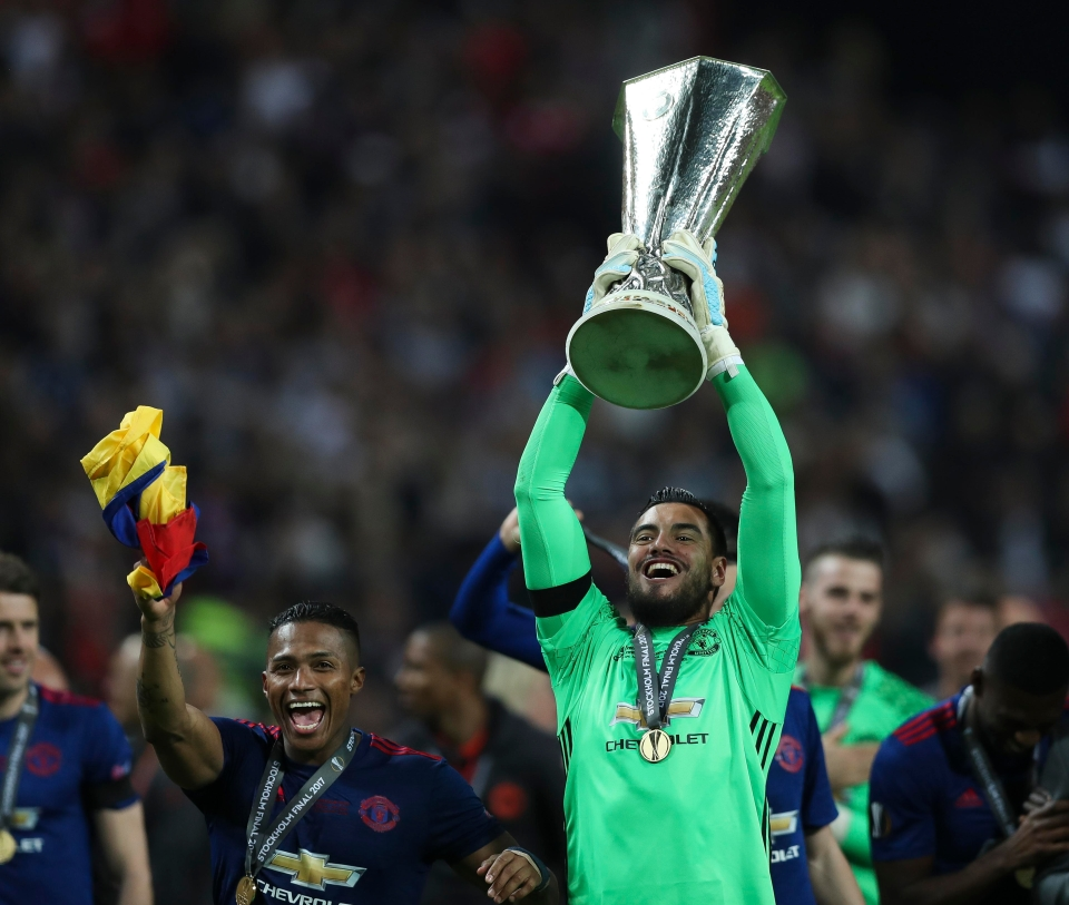 Romero was solid during United's Europa League campaign last season