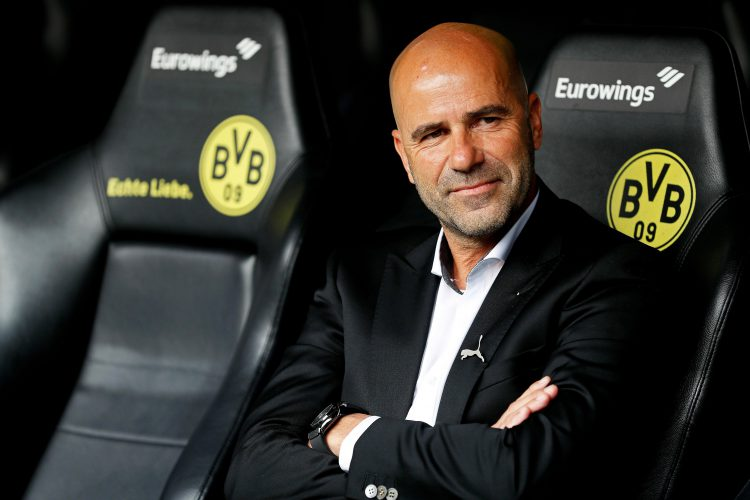 September was a happier time at Dortmund, they were top and Peter Bosz still had a job