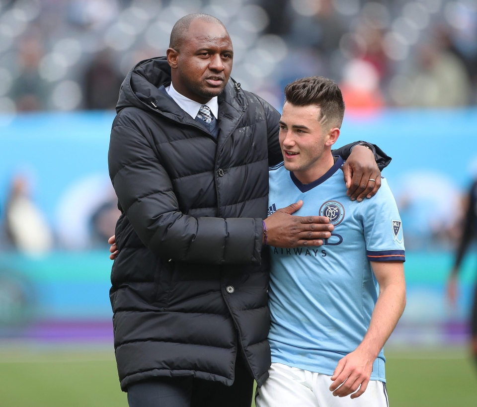 Harrison has been key member of NYCFC's line-up
