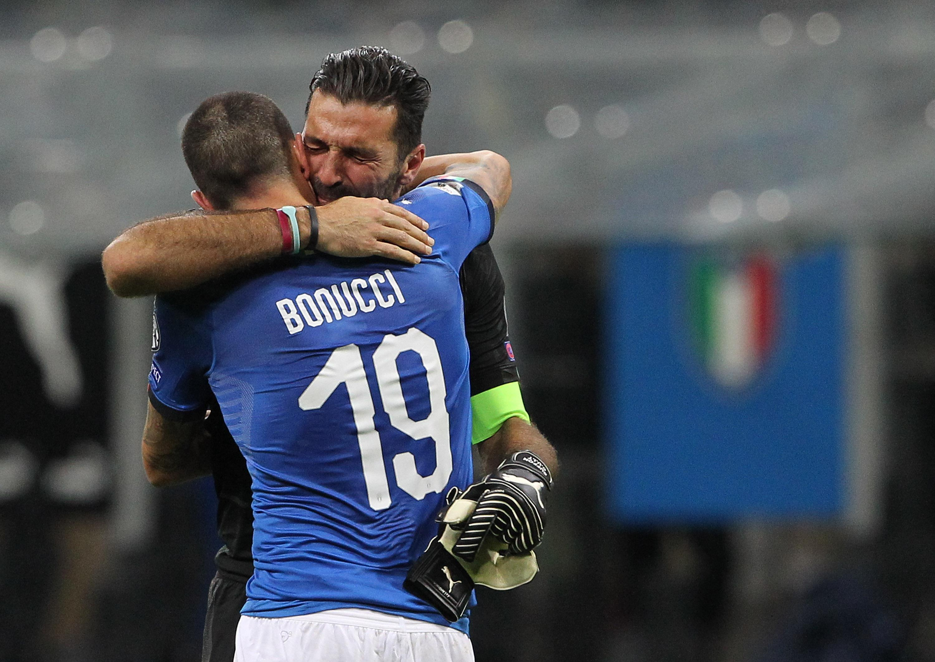 They suffered shared heartache when Italy failed to reach this summer's World Cup