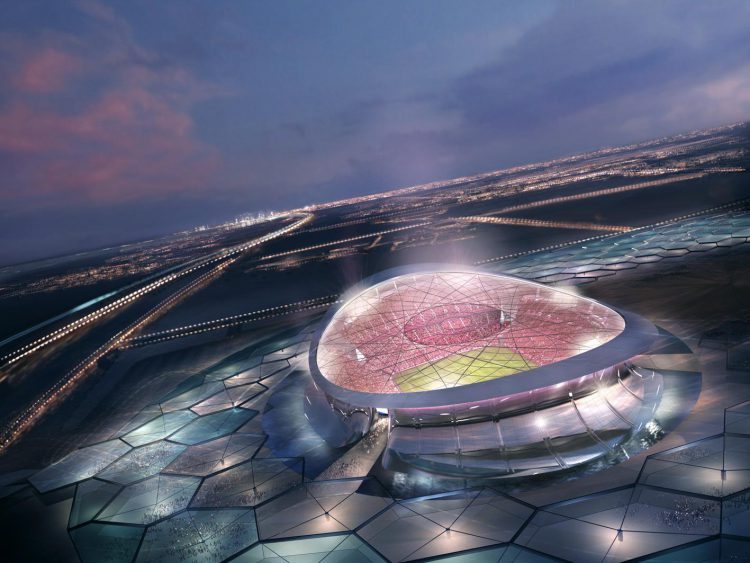 The world's first floating stadium