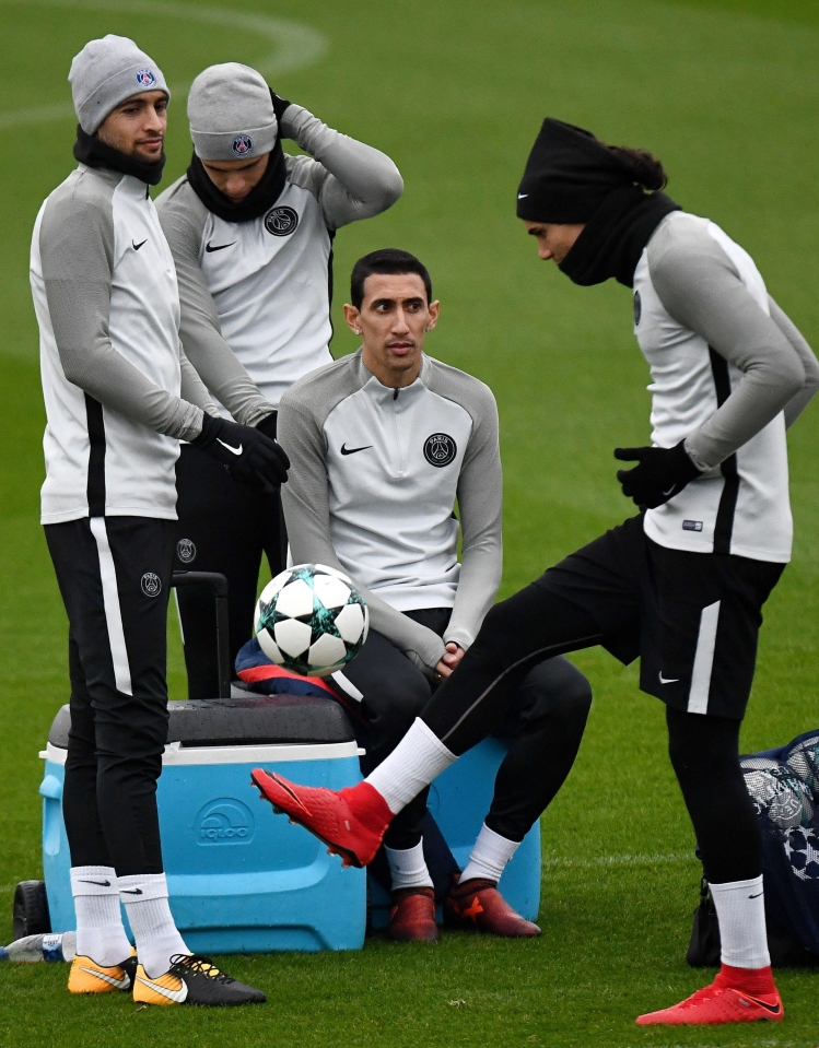 The cliques inside the PSG camp are pretty obvious to see
