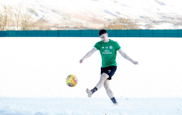 Tierney was forced to leave Celtic after two years of continuous snow in Scotland