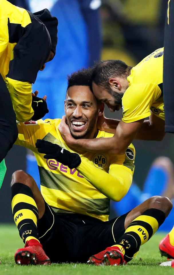 Aubameyang was incredible in Germany