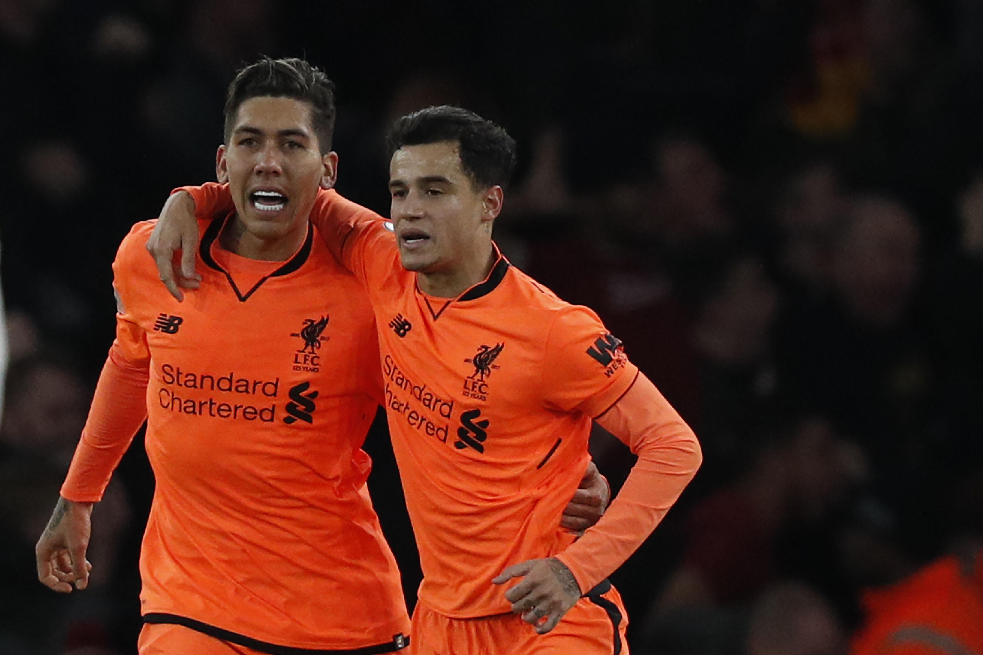 Firmino's influences supersedes Coutinho's
