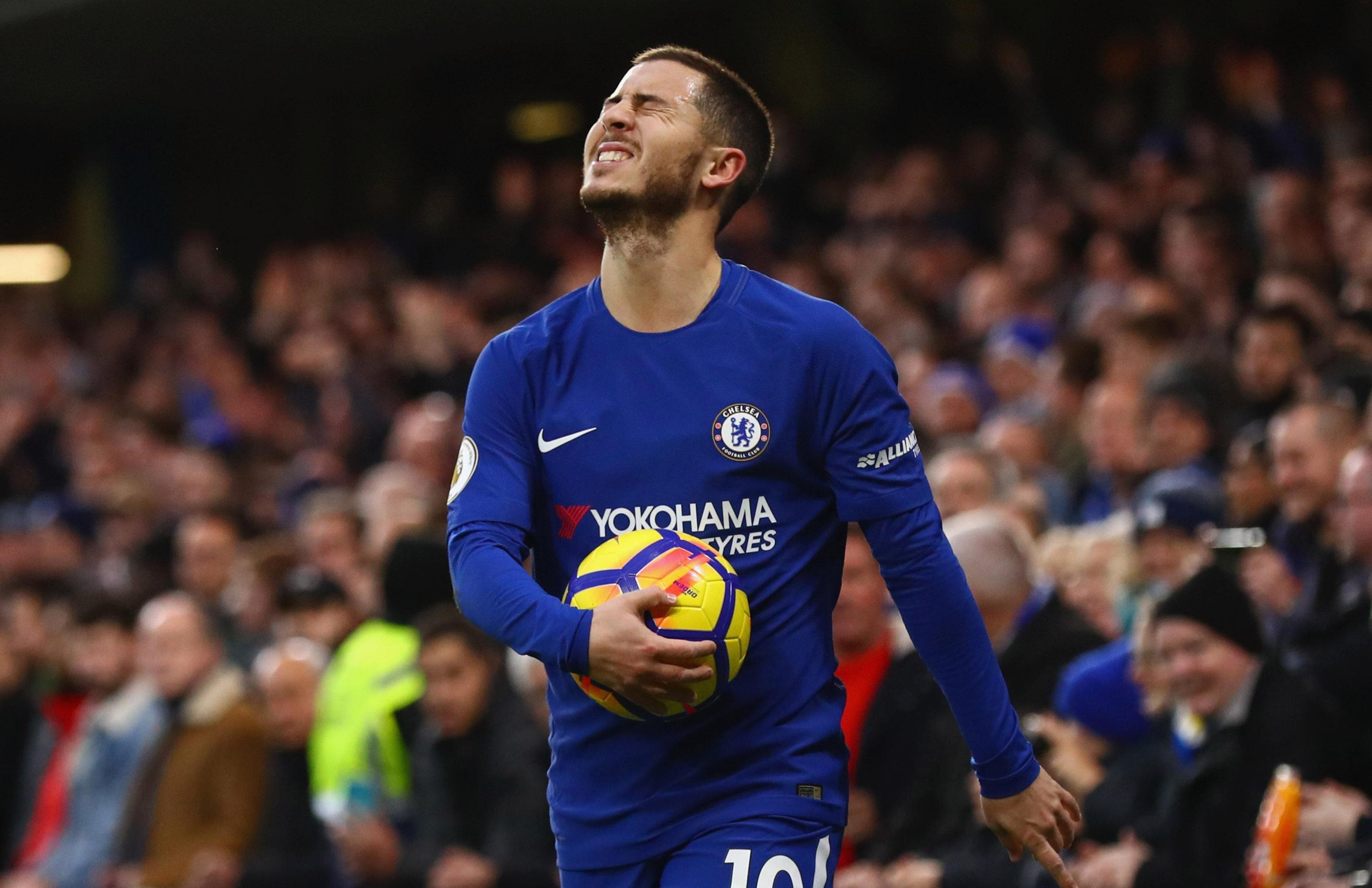 Hazard's future remains a doubt