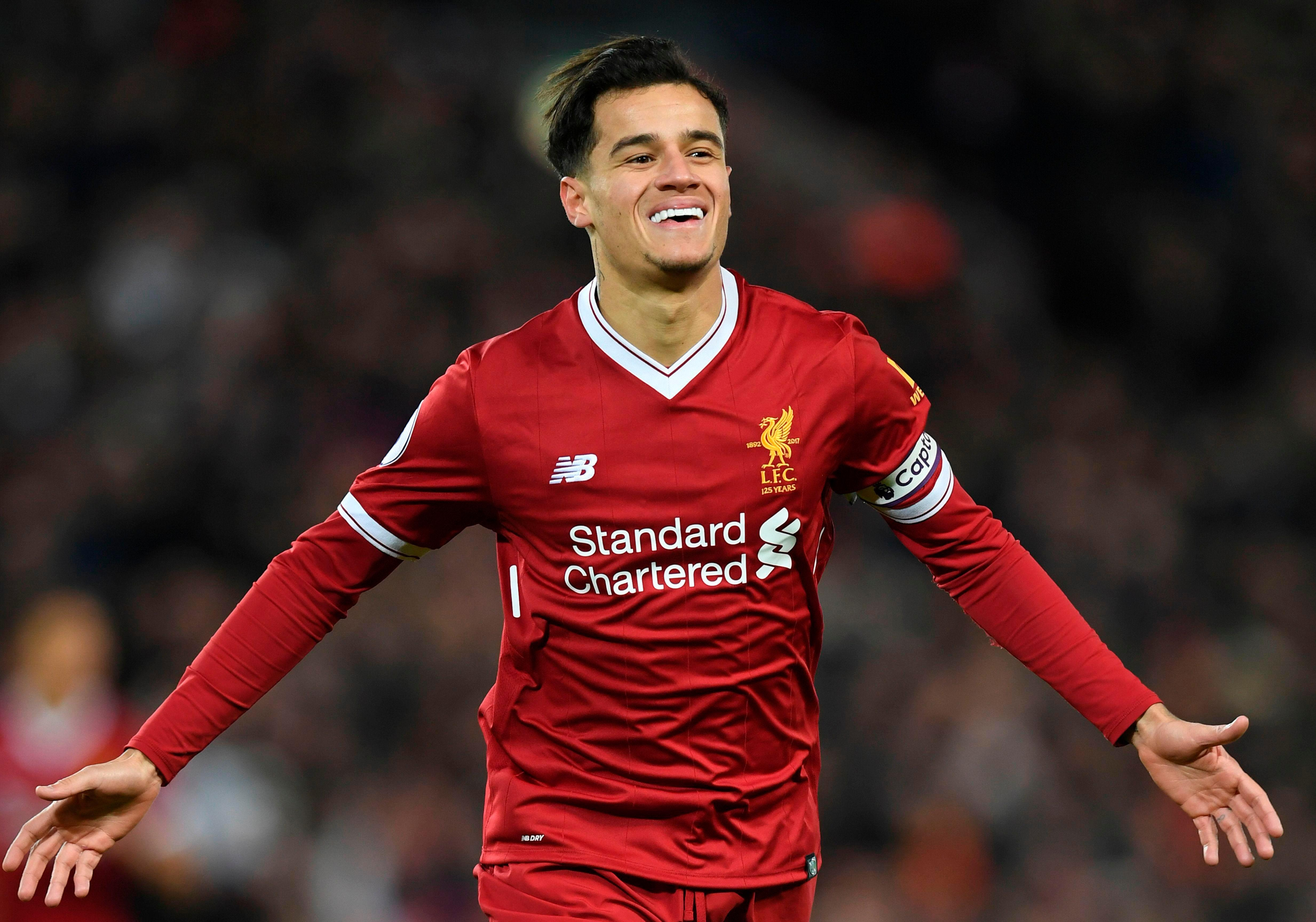 Liverpool and Barcelona are set to hold talks over Philippe Coutinho today