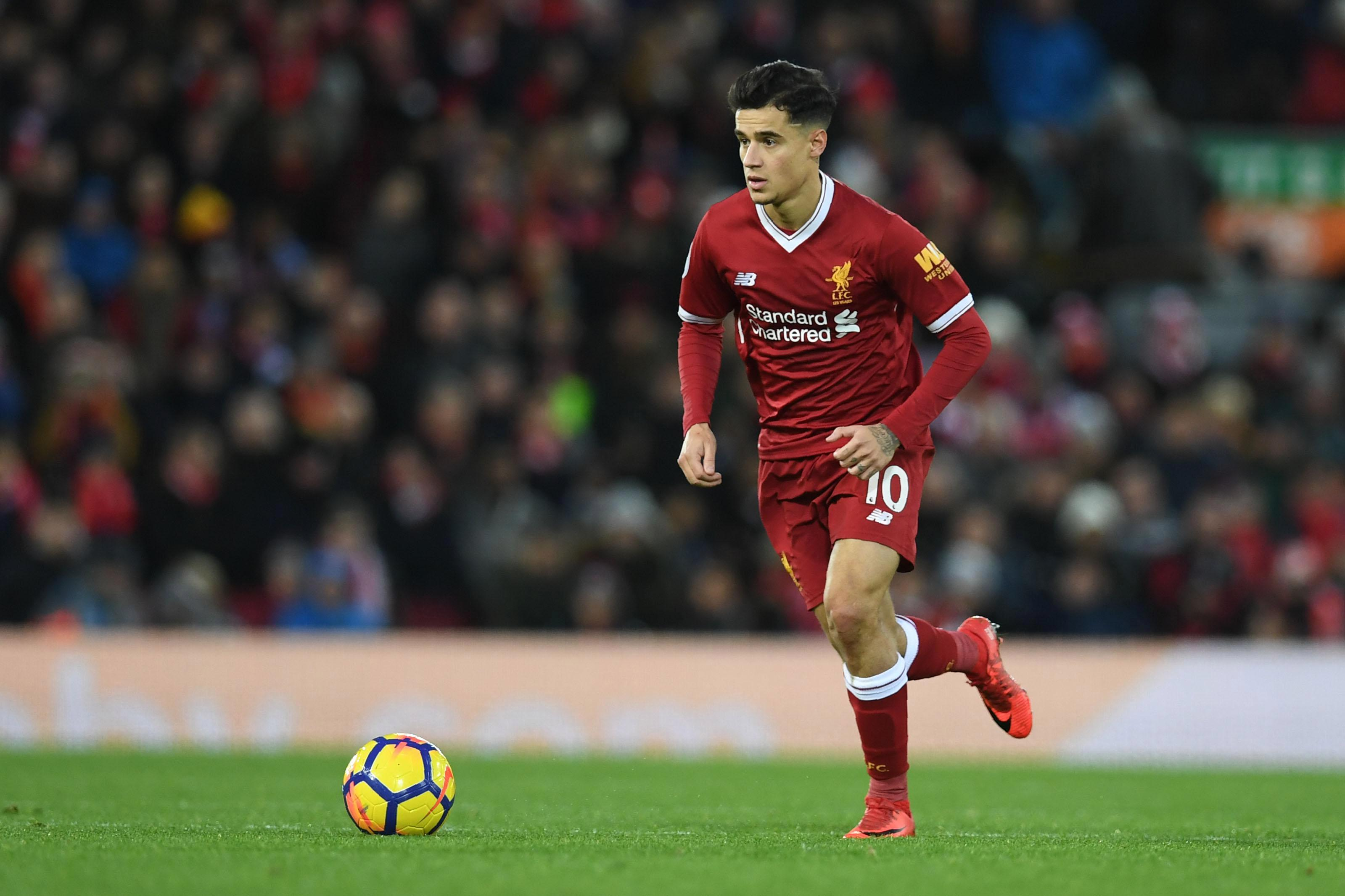 Barcelona have reportedly tabled a £133million bid for Philippe Coutinho