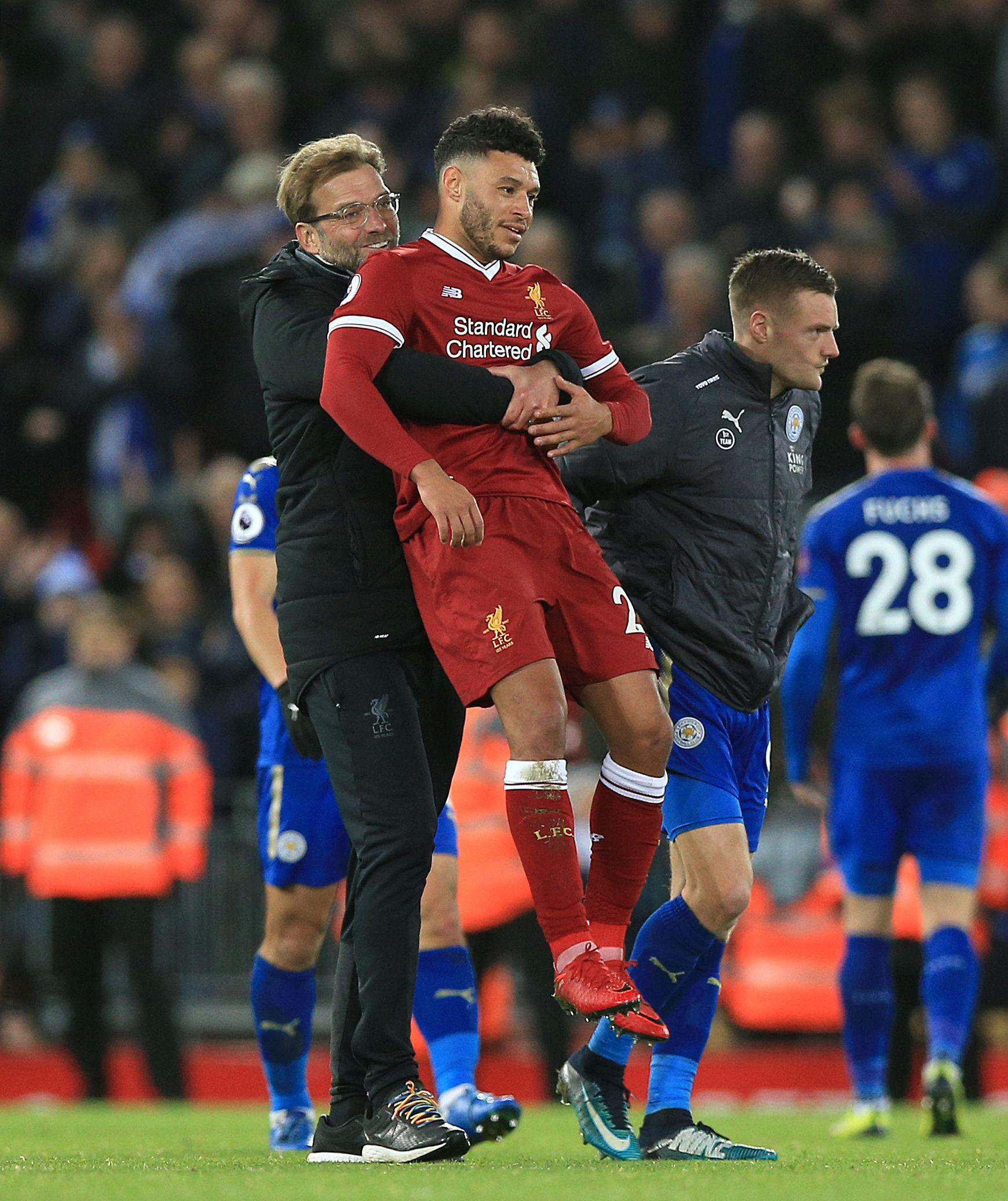 The Ox is literally *carrying* that team