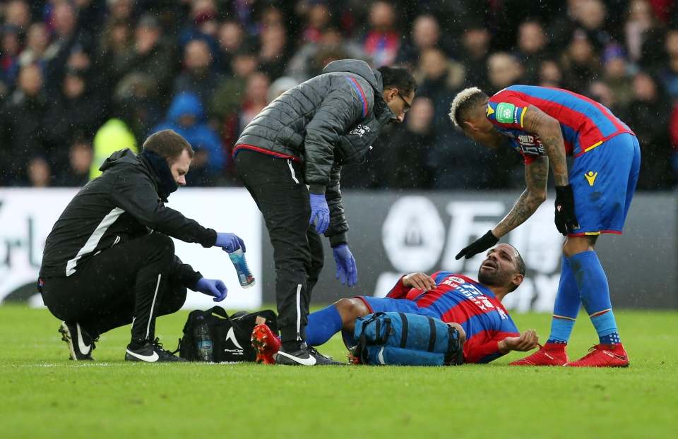 Puncheon will miss the rest of the season