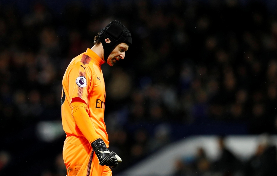Cech has had a horrible fall from grace