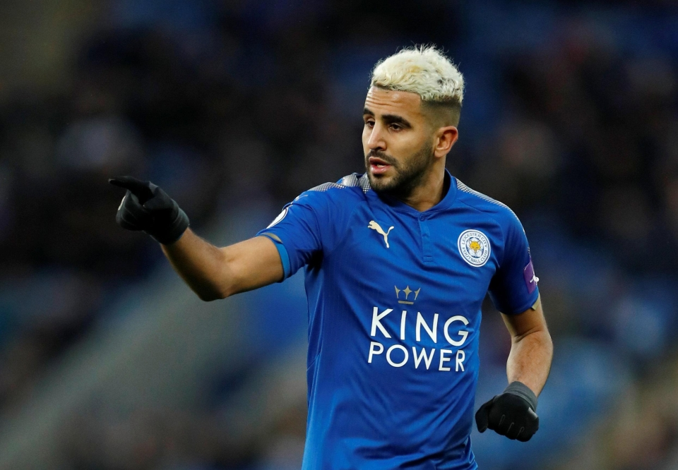 Mahrez is a wanted man