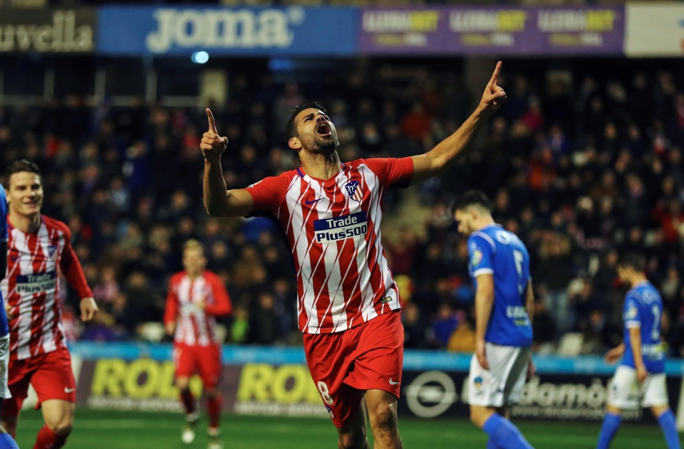 It was a goal-scoring second-debut for Costa