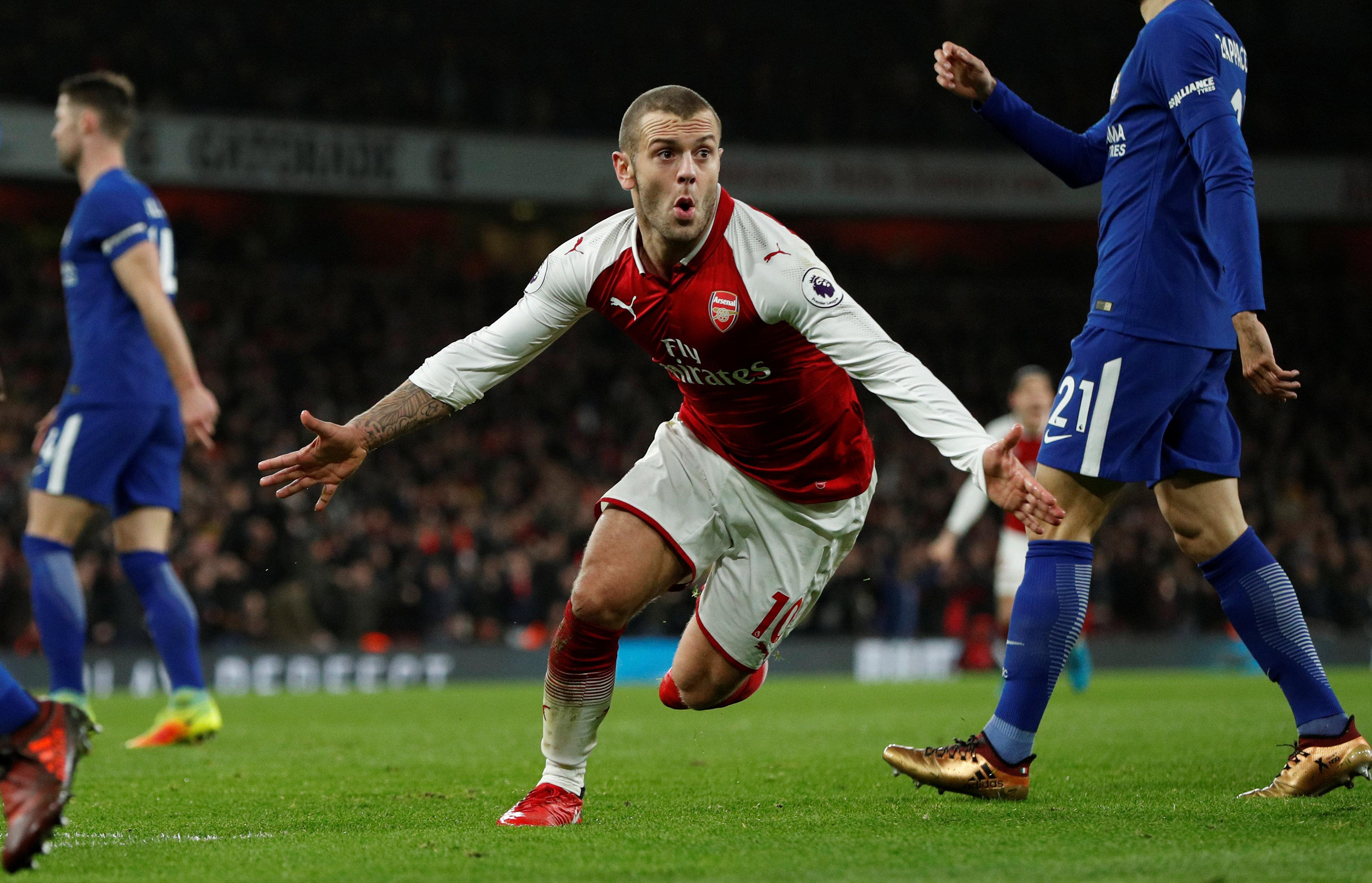 Wilshere has been in great form lately