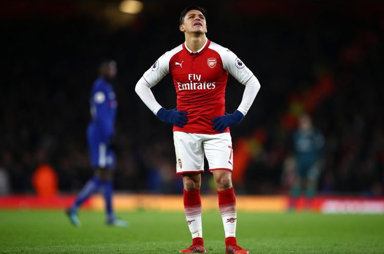 This has been too familiar during Sanchez time at Arsenal