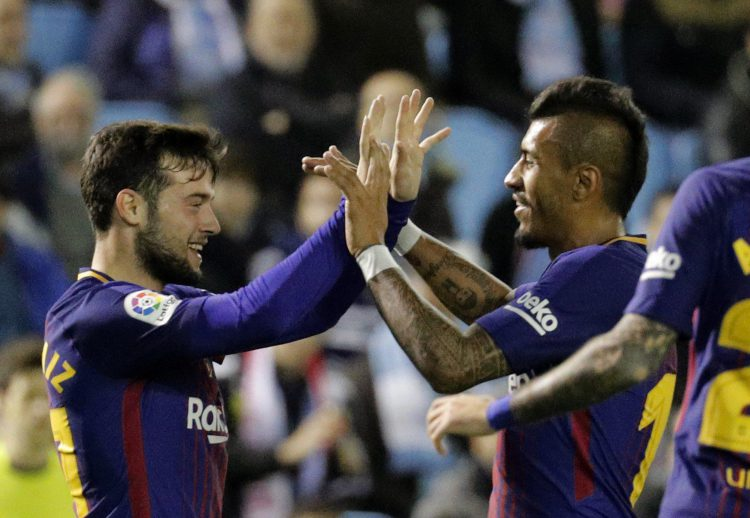 Every young player dreams of playing alongside Paulinho at Barcelona