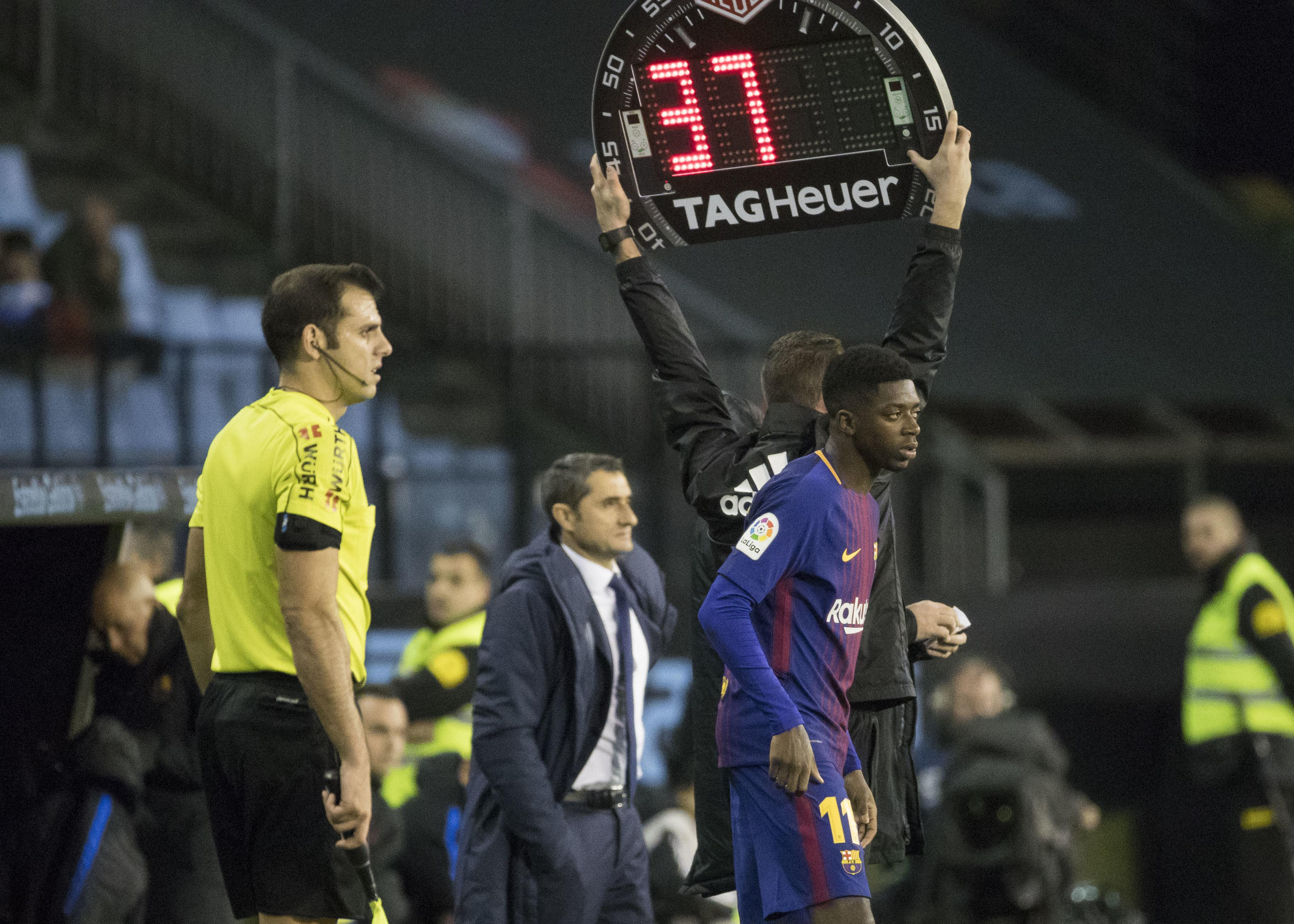 Dembele made his long-awaited return against Celta less than two weeks ago