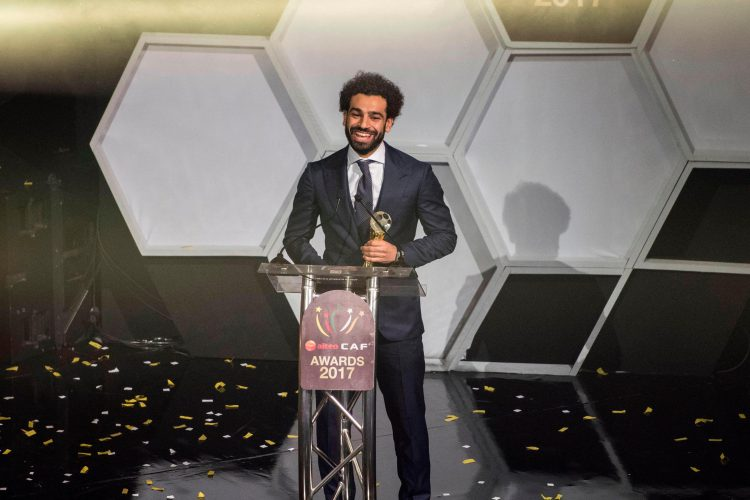 Salah won the African player of the year award last week