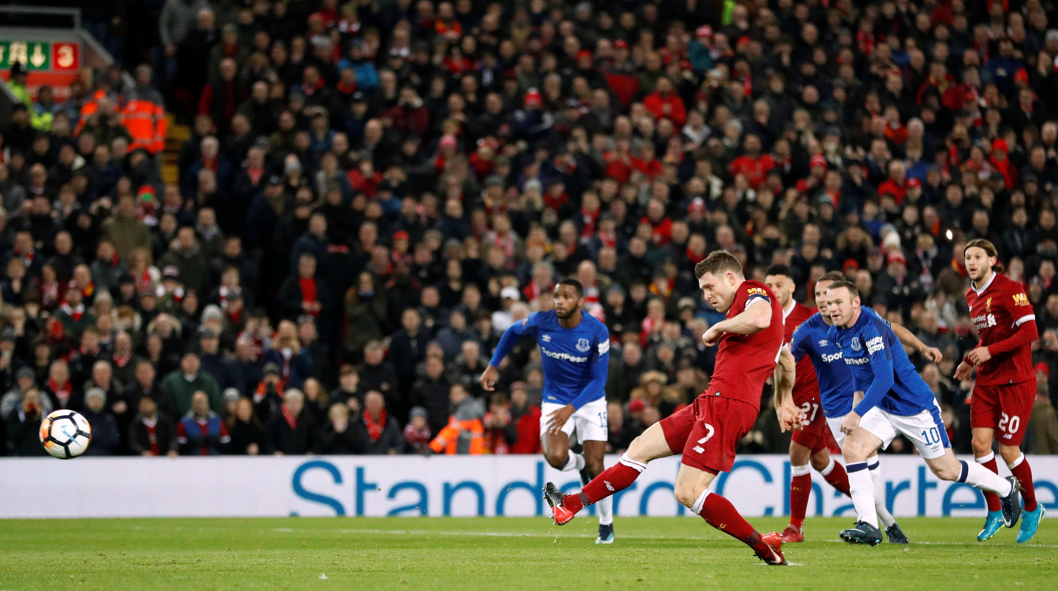 Milner converted from the spot