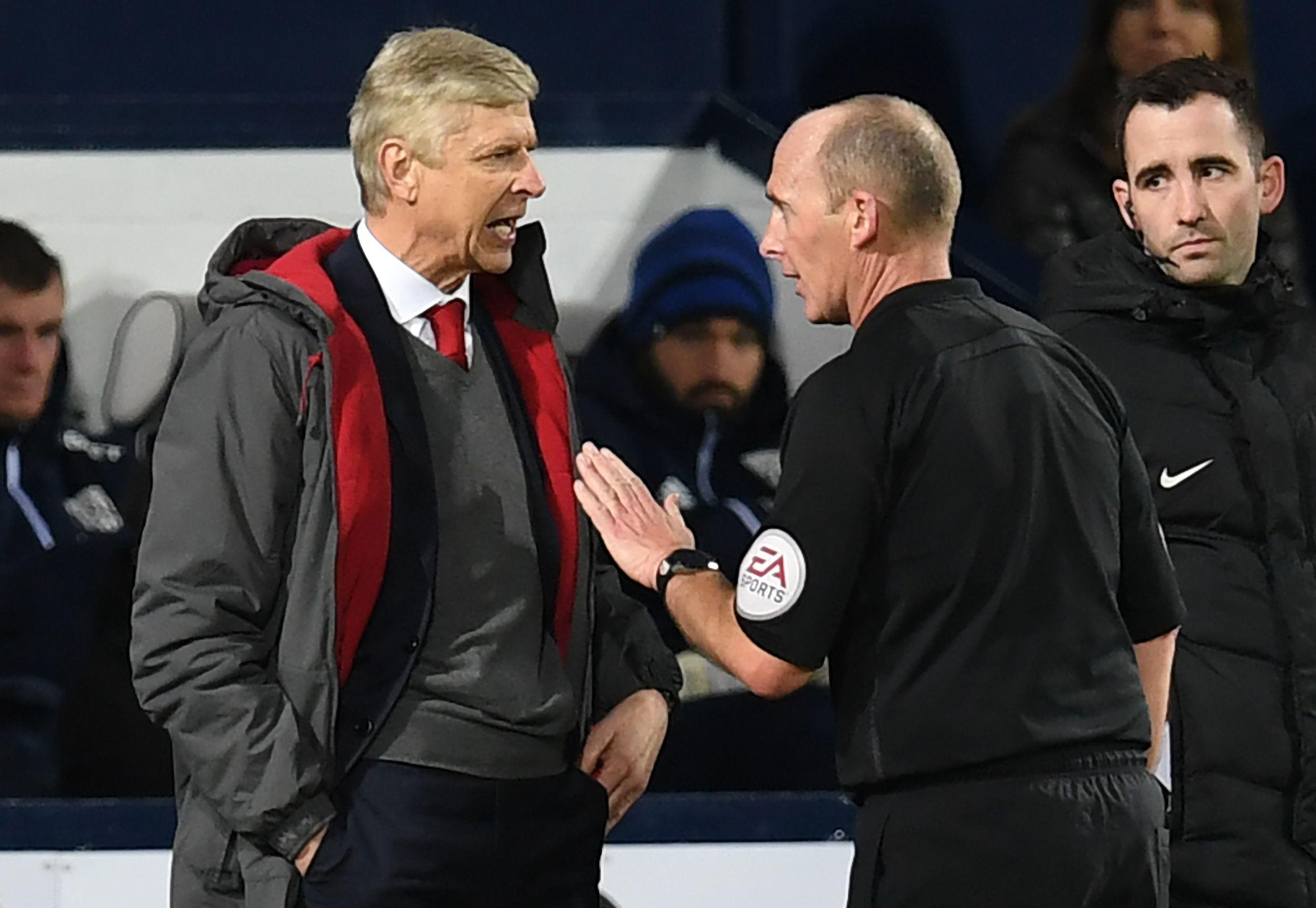 Wenger was incensed by Dean's decision